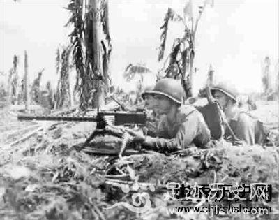 美国陆军在瓜达尔卡纳尔岛消灭日军王牌部队的过程记录-世界历史网