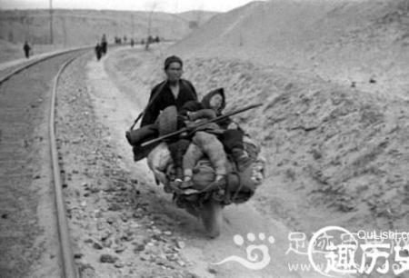 1942年大饥荒真实照片 饥荒遍野